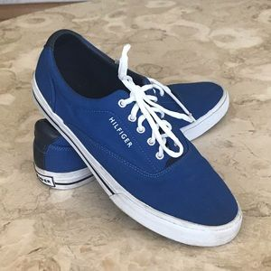 Tommy Hilfiger Canvas Lace Up Shoes
